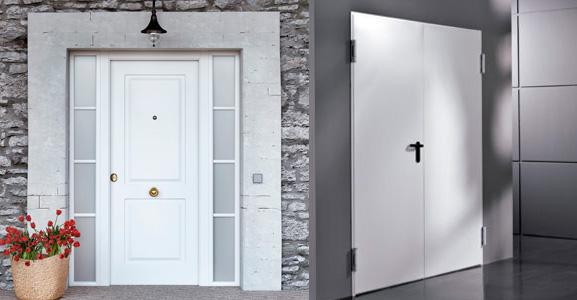 puertas metálicas